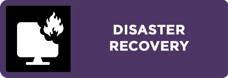 Disaster Recovery MO Button